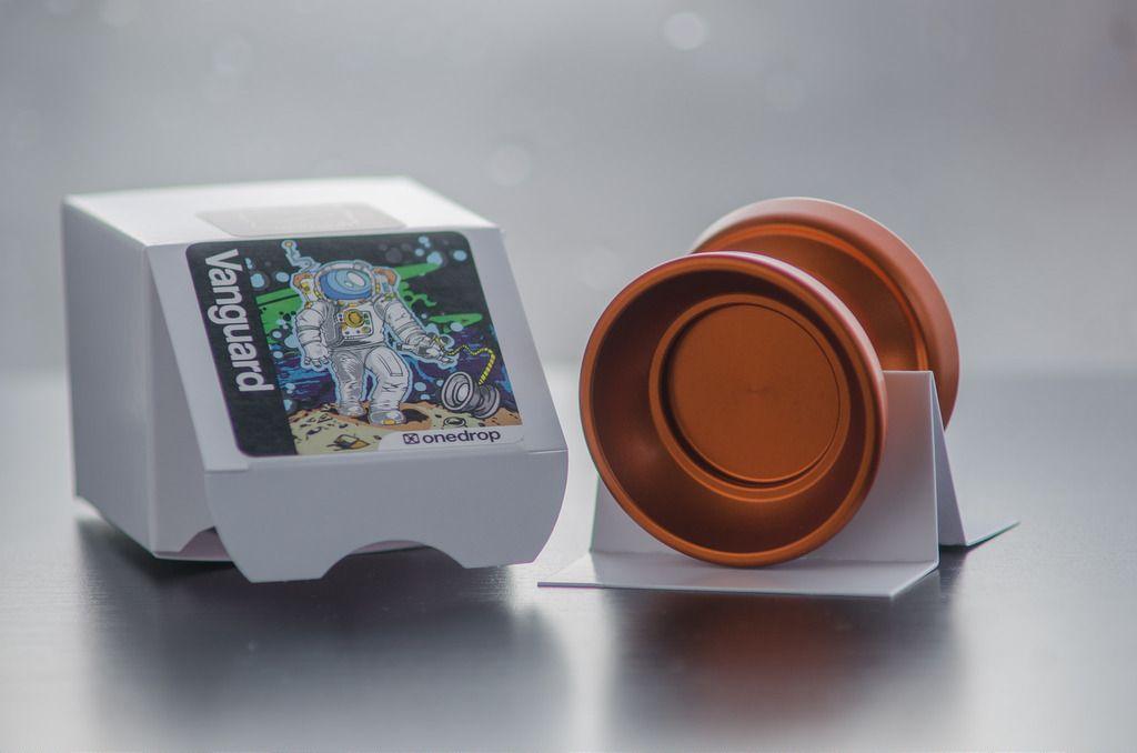 Vanguard New packaging